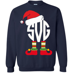Christmas Elf ugly sweatshirt