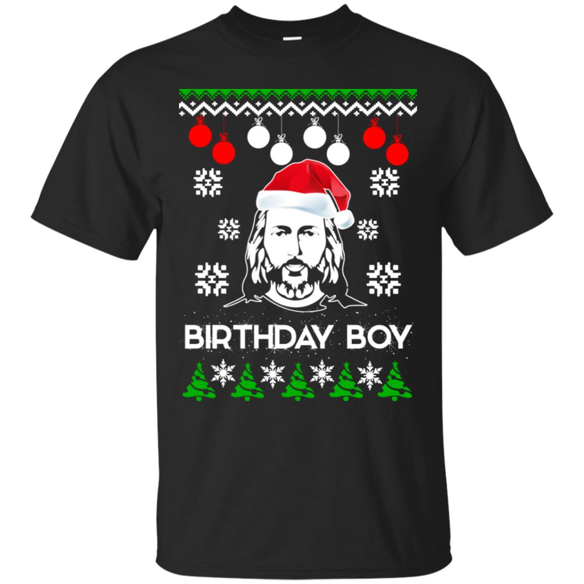 Get Here Jesus Birthday Boy Ugly Christmas sweater – SouyaStore