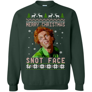 Drop Dead Fred Snot face merry Christmas ugly sweater
