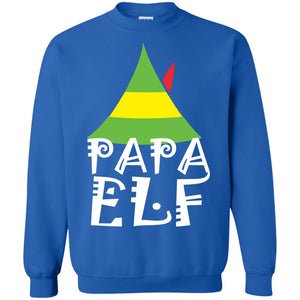 Buddy the Elf PAPA ELF Christmas sweatshirt