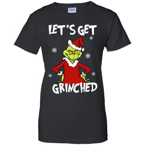 Let's Get Grinched Christmas sweater