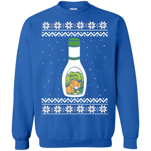 Ranch Dressing Christmas ugly Sweatshirt