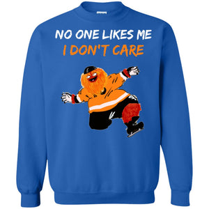 146d0482138 Gritty No one Likes Me I Don t Care t-shirt