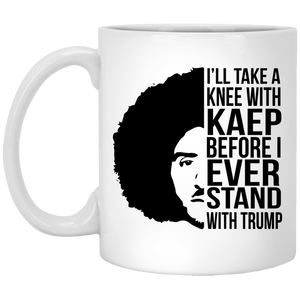 I'll take a knee with Kap mug