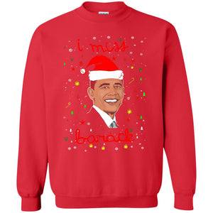 I miss Barack Obama Christmas sweater