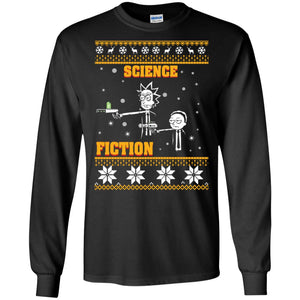 Rick and Morty Science Fiction Christmas sweatshirt