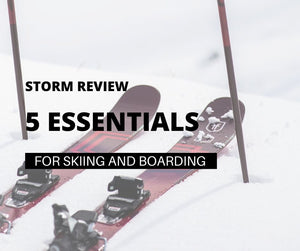5 Essentials for Skiing and Snow Boarding this Winter