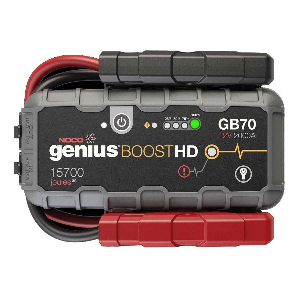 Noco Genius Boost Hd 2000a 12v Lithium Jump Starter - Storm Packs