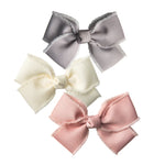 SET OF GROSGRAIN TRIM BOWS