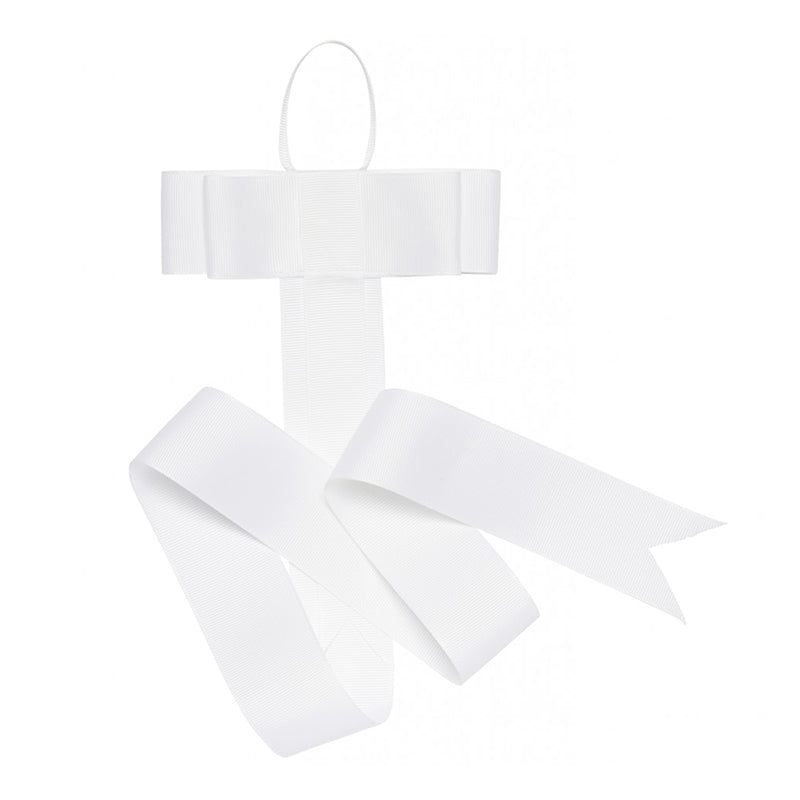 BOW HANGER - WHITE