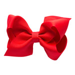 MEDIUM BOW - RED VELVET