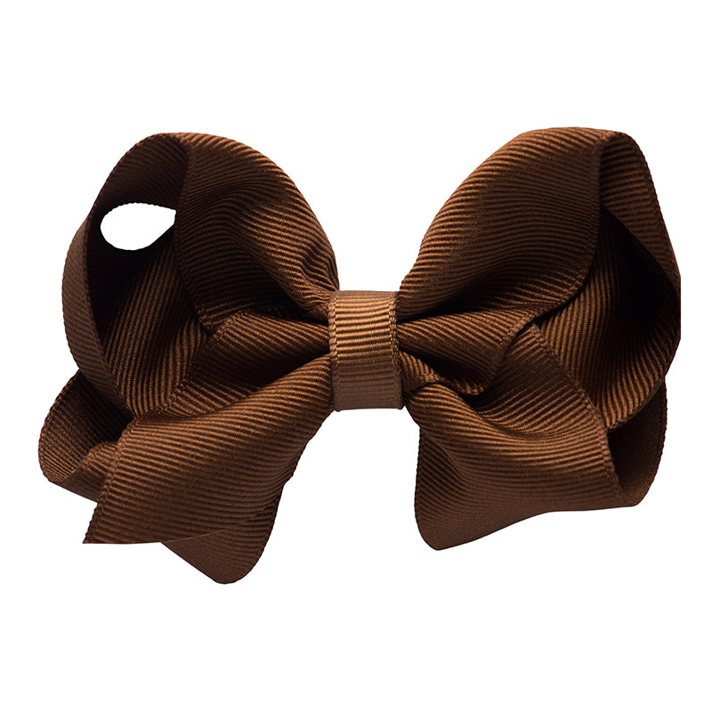 MEDIUM BOW - CHOCOLATE
