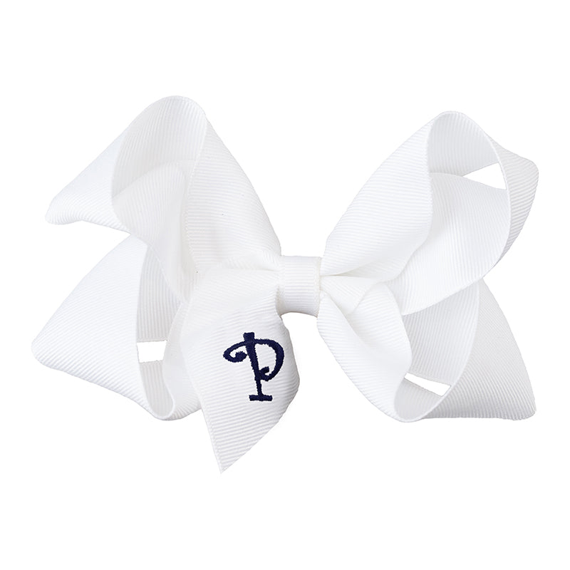 MEDIUM BOW - POLLY CUSTOM INITIAL