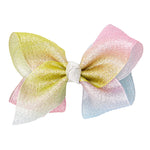 LARGE BOW - RAINBOW SHERBET