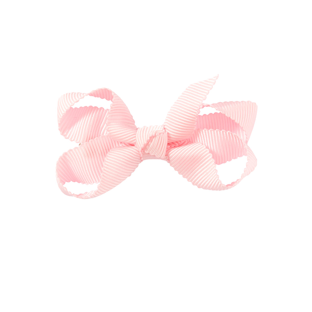 SMALL + BOW - PALE PINK