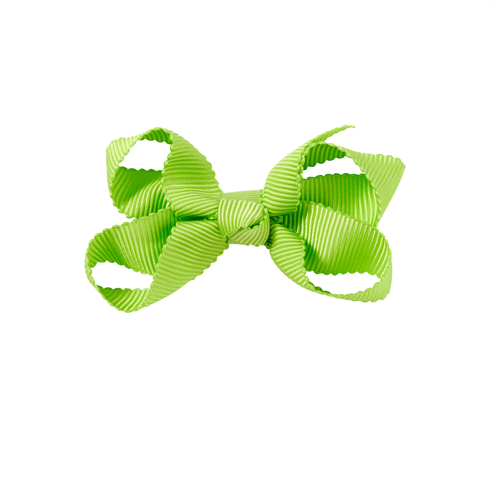 SMALL + BOW - LIME GREEN