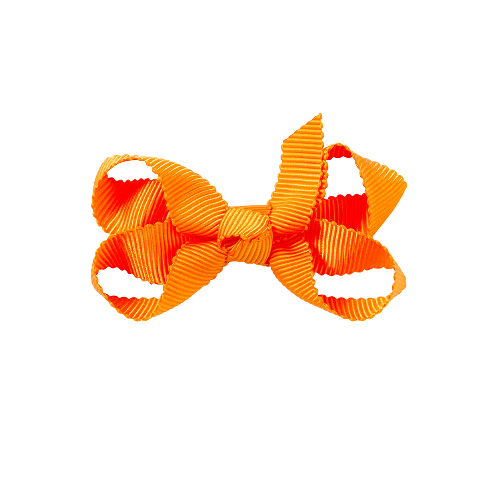SMALL + BOW - TIGER ORANGE