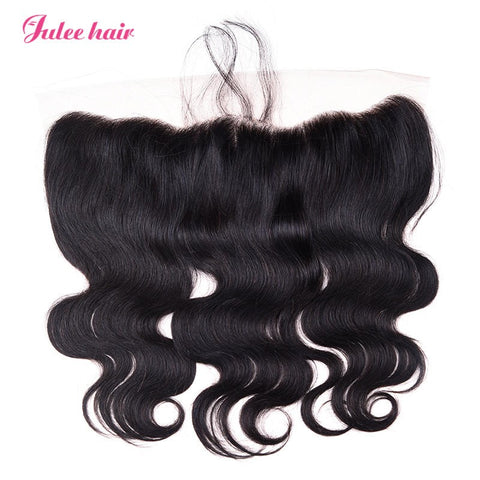 High Quality Virgin Body Wave Hair 13*4 Lace Frontal Closure With Baby Hair