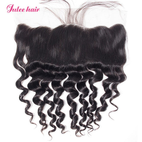 High Quality Loose Deep Wave Lace Frontal Closure 13x4 With Baby Hair