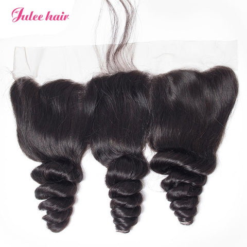 Best Virgin Loose Wave Human Hair 13*4 Frontal Lace Closure