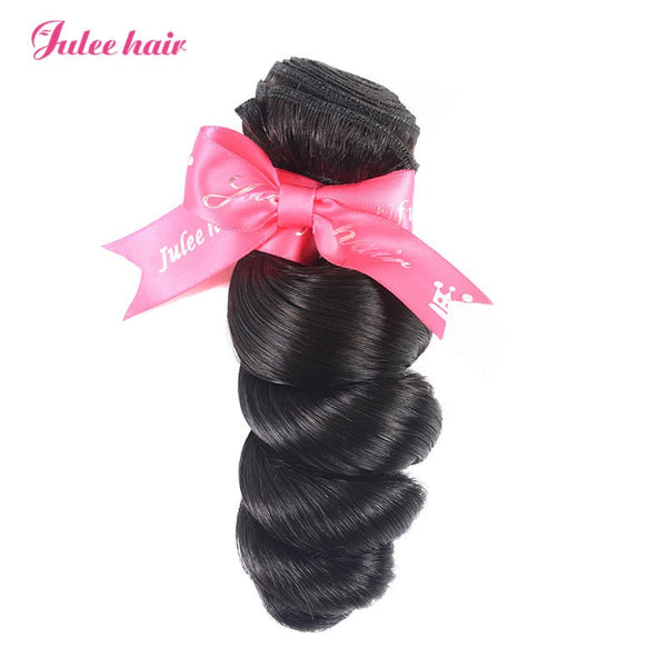Julee Hair Hot Selling Loose Wave Virgin Hair 1 Bundle Deal 1b#