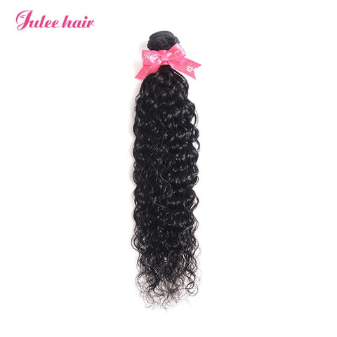 Julee Hair Virgin Natural Wave Weave 1 Bundles Deal 1b#
