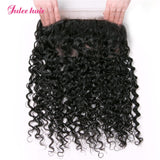 Best Selling Virgin Brazilian Natural Wave 2 Bundles With 360 Lace Frontal