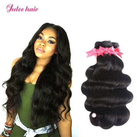 Raw Malaysian Body Wave Virgin Hair 3 Bundles