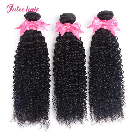 High Quality Virgin Indian Curly Hair 3 Bundles