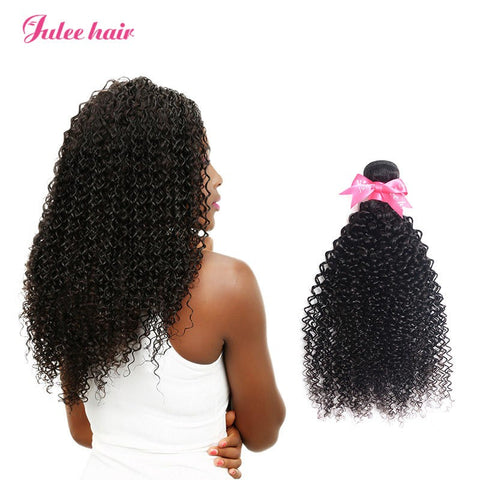 Top Quality Peruvian Hair 3 Bundles Curly Virgin Human Hair
