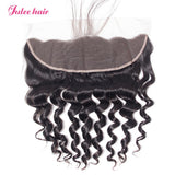 Most Popular 8A Brazilian Loose Deep Wave Hair 3 Bundles With 13*4 Lace Frontal With Baby Hair