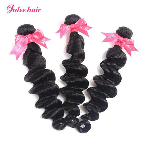 Most Popular Virgin Indian Hair Loose Deep Wave 3 Bundles