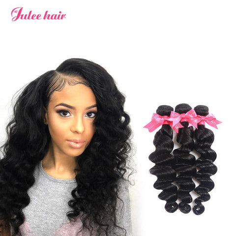 Good Quality Malaysian Loose Deep Wave Virgin Hair 3 Bundles