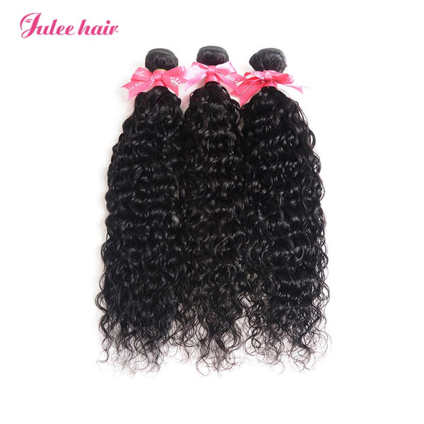 Best Indian Hair 3 Bundles Natural Wave 100% Virgin Human Hair