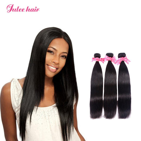 High Quality Indian Straight Virgin Human Hair 3 Bundles