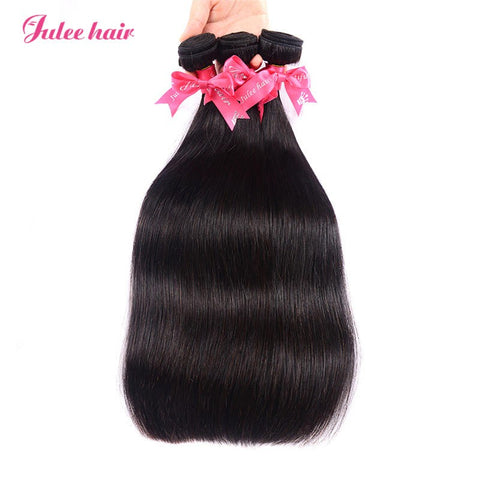 Top Rating Malaysian Straight Hair Bundles 3 Items/Lot