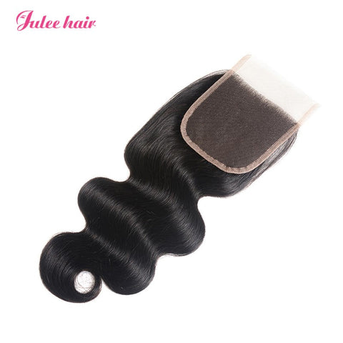 Best Selling Body Wave Hair Closures 4*4 Lace Closure Hair Piece