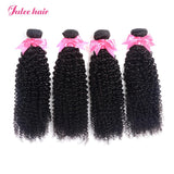 Hot Selling 4 Virgin Indian Curly Hair Bundles With Lace Frontal Ear To Ear 13*4