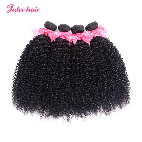 Best Selling 100% Human Virgin Indian Curly Hair 4 Bundles