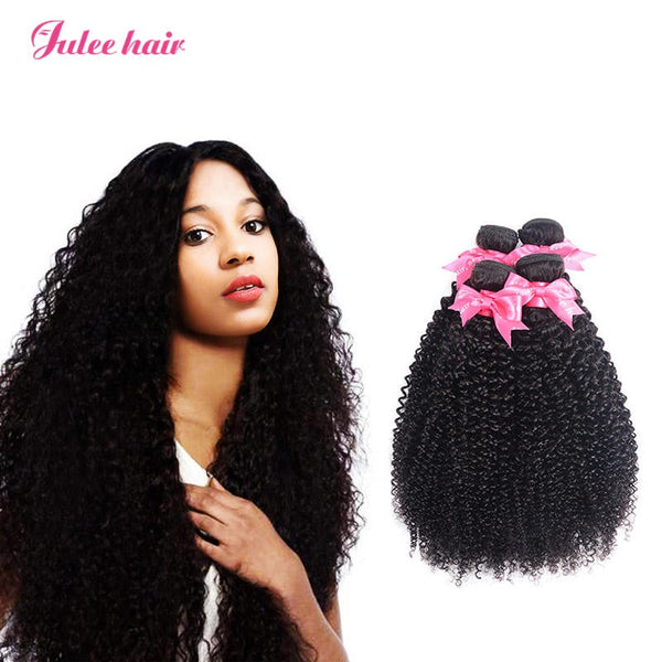 High Quality Virgin Human Malaysian Curly Hair 4 Bundles