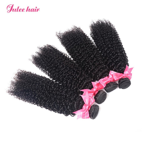 True Peruvian Hair 4 Bundles Natural Curly Virgin Human Hair