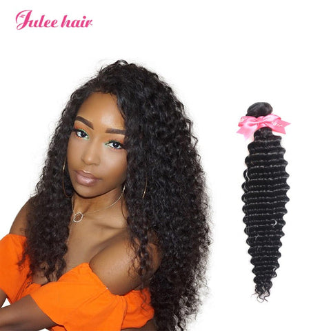 8A Grade Brazilian Deep Wave Bundles Deals 4 Pcs/Pcak