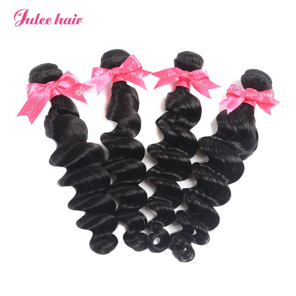 Most Popular Virgin Indian Hair Loose Deep Wave 4 Bundles