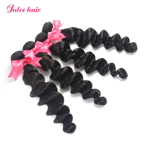 Good Quality Malaysian Loose Deep Wave Virgin Hair 4 Bundles