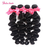 Most Popular Virgin Peruvian Loose Deep Wave Hair 4 Bundles