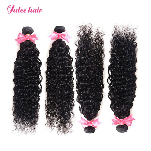 Latest Fashion Brazilian Natural Wave Hair Bundles 4 Items