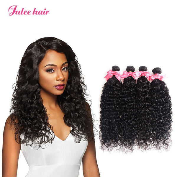 Durable Indian Hair 4 Bundles Natural Wave 100% Virgin Human Hair
