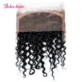 Julee Hair Brazilian Loose Deep Wave 360 Lace Frontal