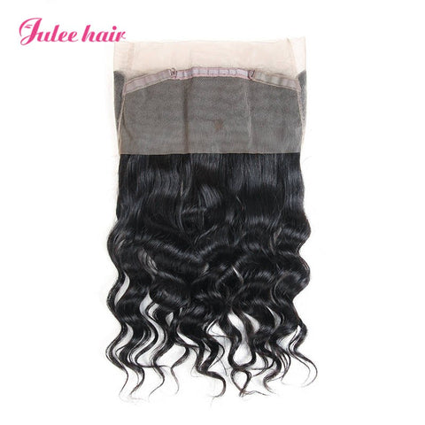 Top Rating 360 Lace Frontal Loose Wave Brazilian Virgin Human Hair