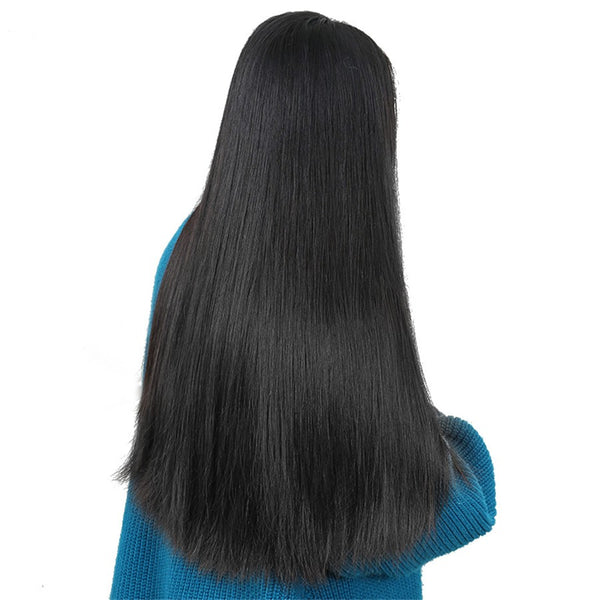 Julee Hair Lace Front Wig 150% Density Straight Human Hair Wigs Pre Plucked Virgin Hair